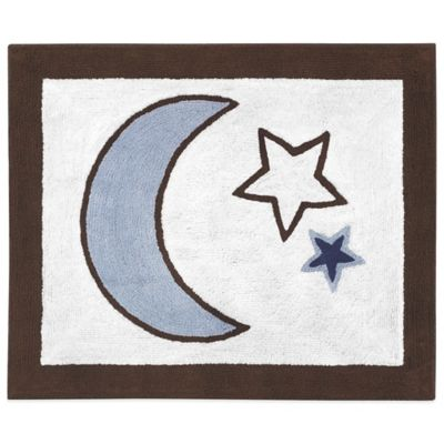 Sweet Jojo Designs Starry Night Floor Rug