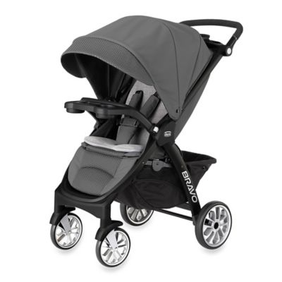 Full Size Strollers > Chicco® Bravo™ LE Stroller in Coal