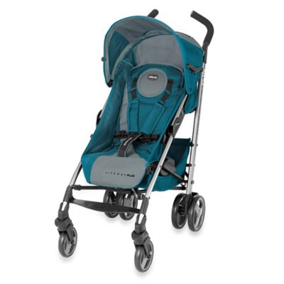 Chicco® Liteway™ Plus 15 Stroller in Blue/Grey