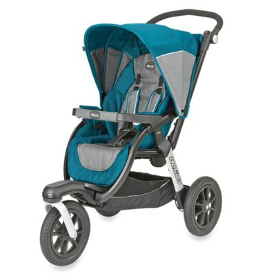 Jogging Strollers > Chicco® Activ3™ Jogging Stroller in Blue/Grey