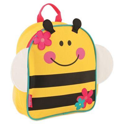 Stephen Joseph Bumblebee Mini Sidekick Backpack in Yellow/Pink