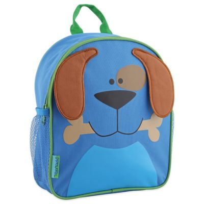 Stephen Joseph Dog Mini Sidekick Backpack in Blue/Brown
