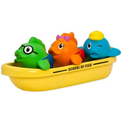 Munchkin School of Fish Bath Toy