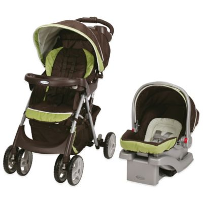 Graco® Comfy Cruiser™ Click Connect™ Travel System in Go Green™