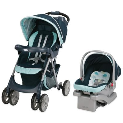 Graco® Comfy Cruiser™ Click Connect™ Travel System in Stratus™