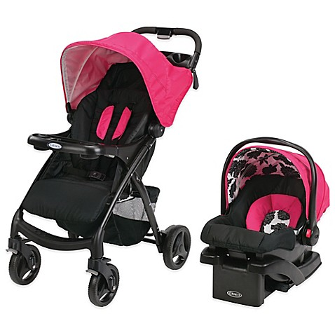 Buy Graco 174 Verb Click Connect Travel System In Azalea