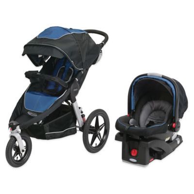 Graco® Relay™ Performance Jogger Travel System in Jaguar™