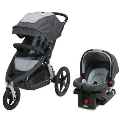 Graco® Relay™ Performance Jogger Travel System in Glacier™