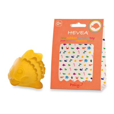 Hevea® Polly the Fish Bath Toy in Yellow