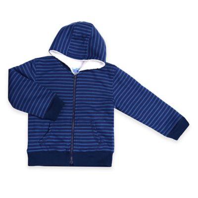 Kapital K™ Size 3T Mini Stripe Thermal Zip-Up Hoodie