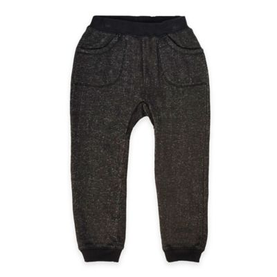 Kapital K™ Size 12M Jogger French Terry Pant in Black