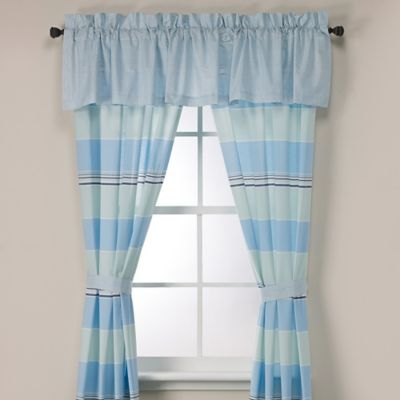 Nautica® Makay Window Valance in Aqua