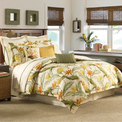 Tommy Bahama® Birds of Paradise California King Comforter Set in Coconut