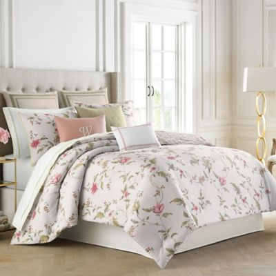 Wedgwood® Sweet Plum King Duvet Cover Set