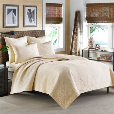 Tommy Bahama® Nassau King Quilt in White