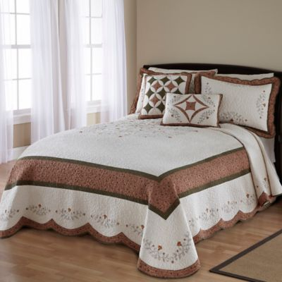 Nostalgia Home® Wellesley Queen Bedspread