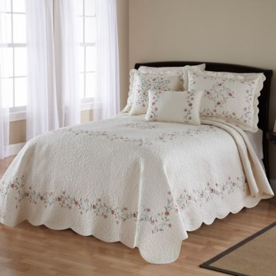 Home Quilted Bedspread