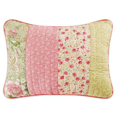Amberly Oblong Patchwork Throw Pillow