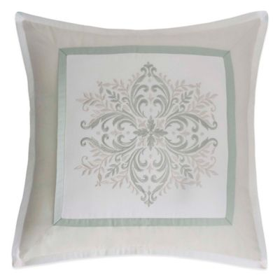 Williamsburg Davenport Square Throw Pillow Throw Pillows