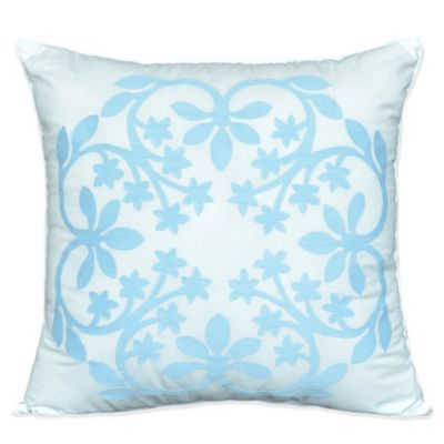 Nostalgia Home® Kayla Embroidered Square Throw Pillow