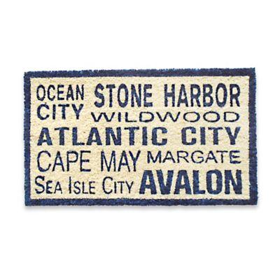 Coastal South Jersey Doormat