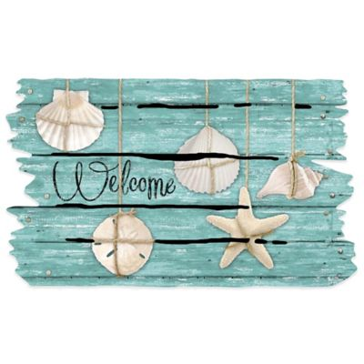 Masterpiece 18-Inch x 30-Inch Seashell Door Mat