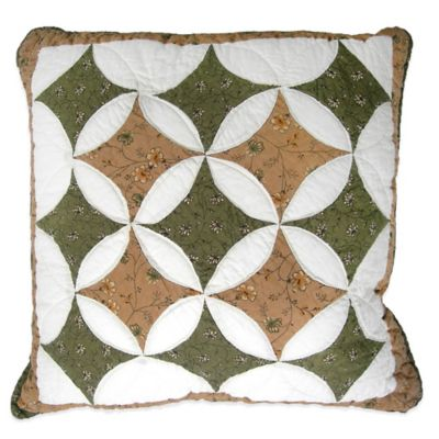 Nostalgia Home® Wellesley Square Throw Pillow
