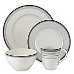 Noritake® Java Graphite Swirl 4-Piece Place Setting