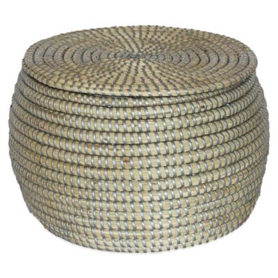 Seagrass Basket Decorative Accents