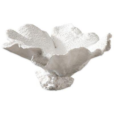 Uttermost Ali Textured White Bowl