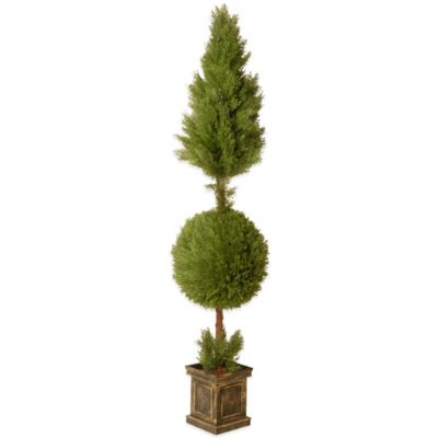 National Tree Company 72-Inch Juniper Spiral