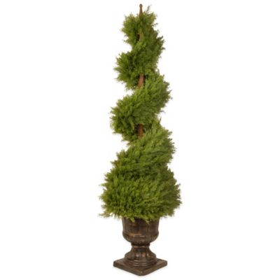 National Tree Company 60-Inch Juniper Spiral Tree