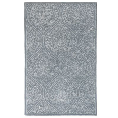 Amer Finesse 2-Foot 6-Inch x 3-Foot 10-Inch Area Rug in Blue