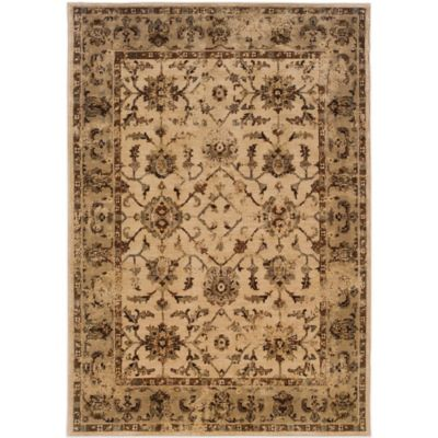 Oriental Weavers Casablanca 5-Foot 3-Inch x 7-Foot 6-Inch Rug in Beige