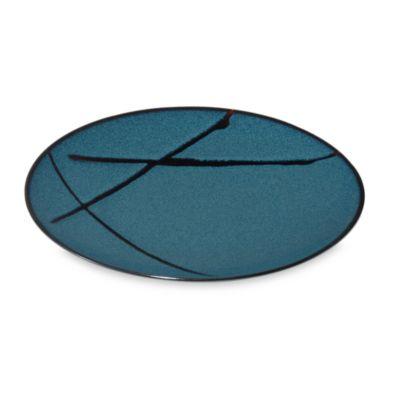 Mikasa® Sedona Blue/Brown 8 3/4-Inch Salad Plate