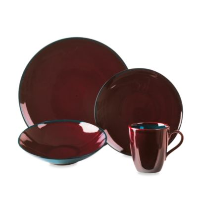 Mikasa® Sedona 4-Piece Place Setting in Brown/Blue