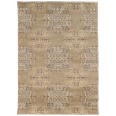Oriental Weavers Casablanca 3-Foot 10-Inch x 5-Foot 5-Inch Rug in Beige