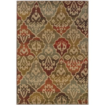Oriental Weavers Casablanca 3-Foot 10-Inch x 5-Foot 5-Inch Rug in Multicolor