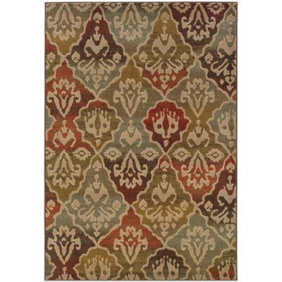 Oriental Weavers Casablanca 9-Foot 10-Inch x 12-Foot 10-Inch Rug in Multicolor