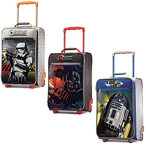 Star Wars American Tourister Carry On Suitcase Bed Bath Beyond