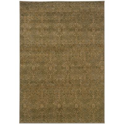 Oriental Weavers Casablanca Oriental Washed 6-Foot 7-Inch x 9-Foot 6-Inch Rug in Green