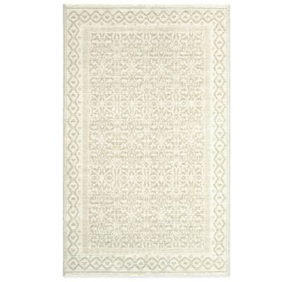7 6 White Collection Rug