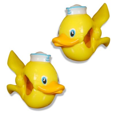 Boca Ducky Towel Clips™ in Yellow (Set of 2)