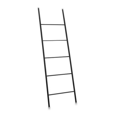 InterDesign® Forma® Free Standing Towel Ladder in Black