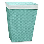 Lamont Home™ Carly Hamper in Aqua