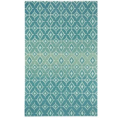 Kevin O'Brien by Capel Rugs Lisbon 3-Foot x 5-Foot Rug in Azul