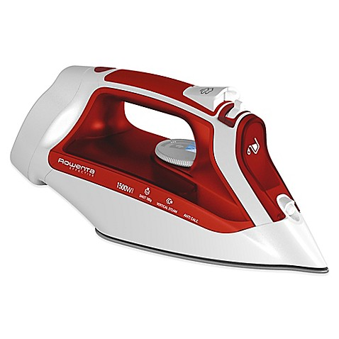 how to clean descaler with rowenta steam iron