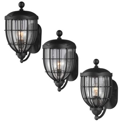Feiss River North Wall-Mount 13-3/8 Inch Outdoor Lantern