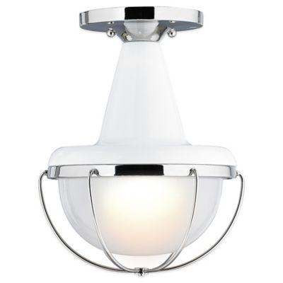 White Glass Light