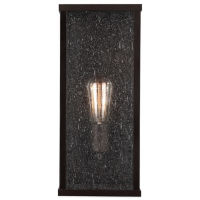 Feiss® Lumiere Wall-Mount 1-Light Outdoor Lantern in Oil Rubbed Bronze